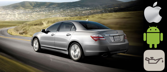 Reset Acura RL Maint Req'd Light