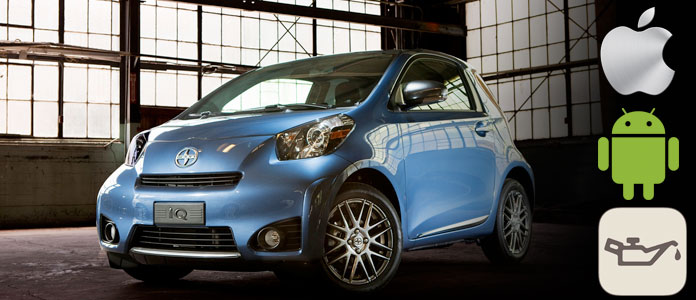 reset scion iq oil maint reqd light