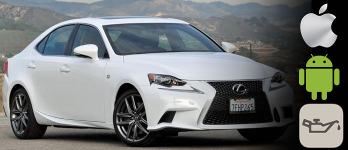 lexus is oil change reminder light reset