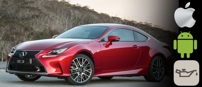 Reset 2015 Lexus RC Oil Maintenance Required Light