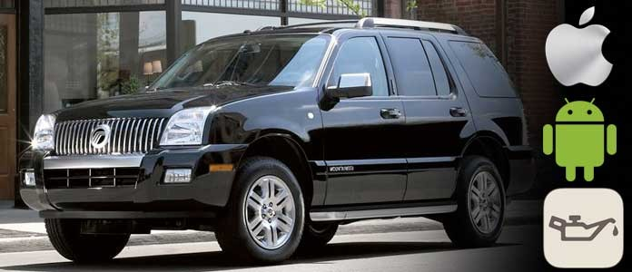 Mercury Mountaineer Oil Change Required Light Reset