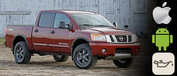 Nissan Titan oil maintenance light reset