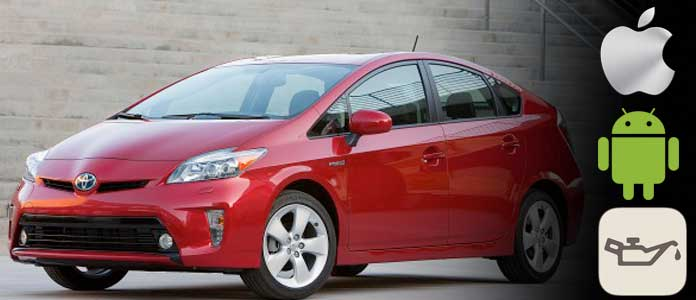 toyota prius maintenance required message reset