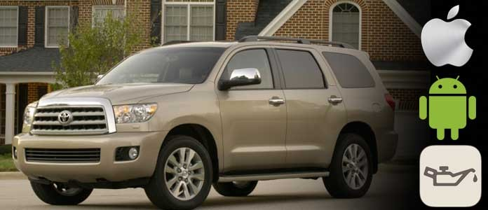 toyota sequoia oil life light reset