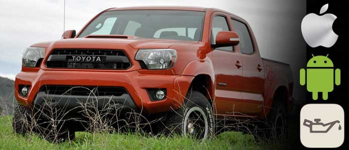 toyota tacoma oil maintenance light reset