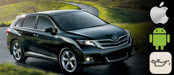 venza oil maintenance light reset