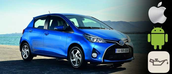 toyota yaris maintenance light reset