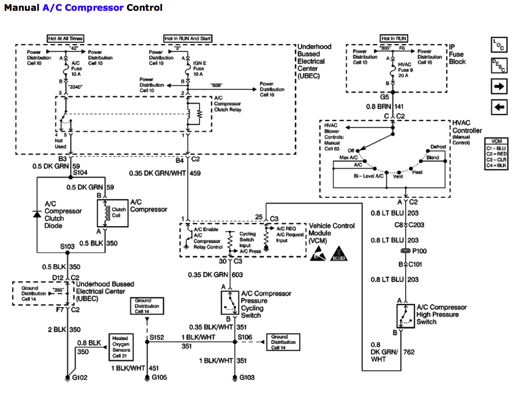 Chevy Ac System Diagram - Wiring Diagram Center